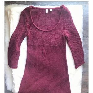 Anthropologie Dresses - Anthropologie Moth Sweater dress